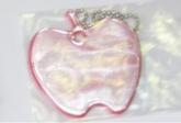 Светоотражающая подвеска «яблоко» с цепочкой