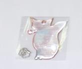 Светоотражающая подвеска «лиса» с цепочкой