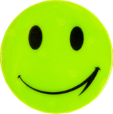 Наклейка светоотражающая «смайлик»